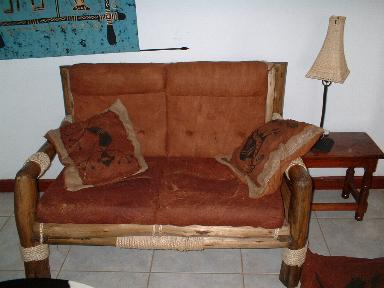 African Room Chair